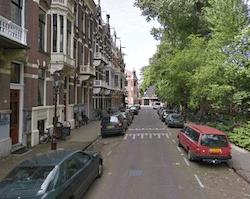 Amsterdam Van Eeghenlaan Vondelpark